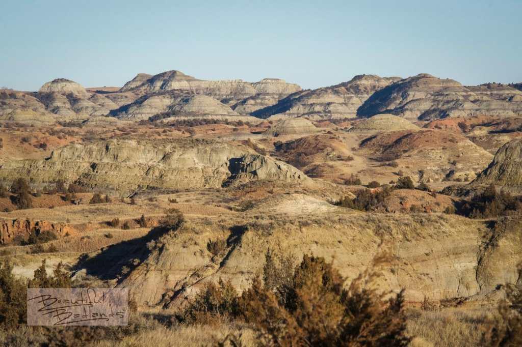 Mid December in the Badlands of North Dakota