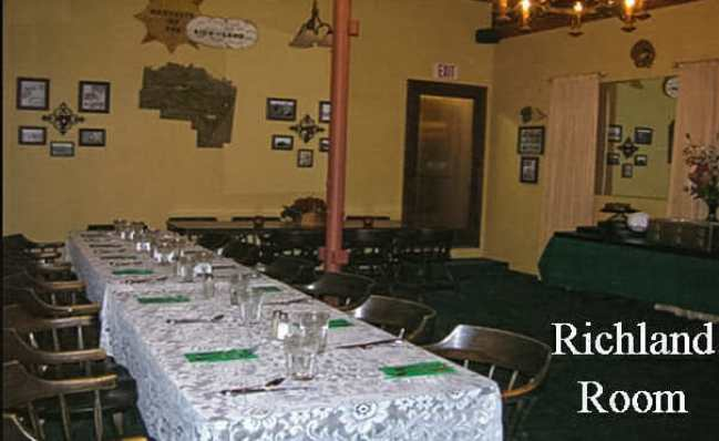 A Classic Dining Room at the South 40 in Sidney, Montana. Photo courtesy the South 40 Facebook page.