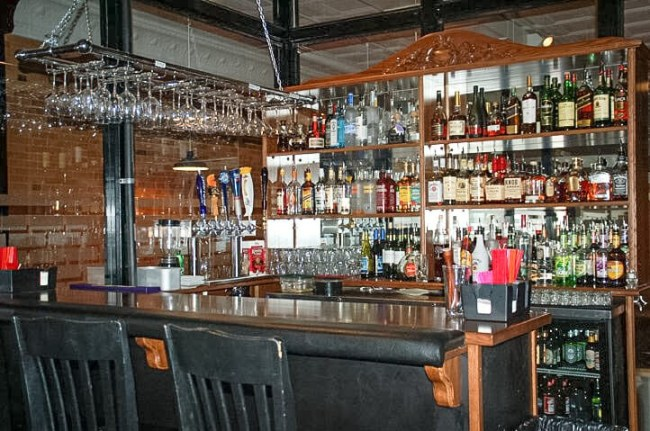 The BrickHouse Grille in Dickinson, North Dakota boasts a broad selection of fine wines and spirits to accompany the fine dining menu items for which they are well known. Photo courtesy BrickHouse Grille Facebook page