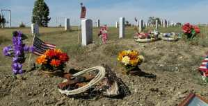 Always Remember. Old Scout Cemetery, White Shield, North Dakota
