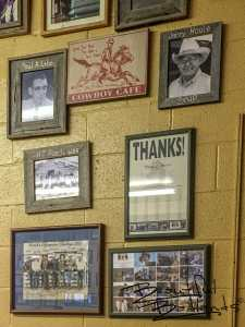 Historic Ranchers, and the Wooly Boys Film Cast and Crew, Cowboy Cafe, Medora, North Dakota