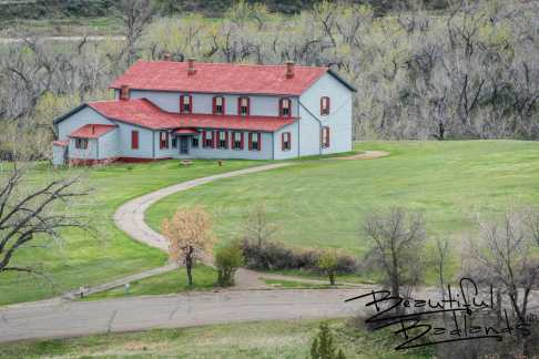 The Civilian Conservation Corps helped restore The Chateau De Mores, Medora, North Dakota