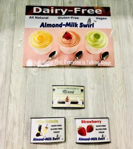 Dairy Free Options at YUM Froyo & More, Dickinson, North Dakota