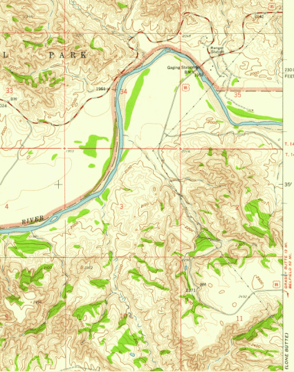 map old highway 85