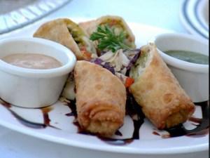 Eggrolls, Basil Sushi Bar & Asian Fusion, Williston, North Dakota