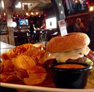 Great Burgers at Doc Holliday's Roadhouse, Williston, North Dakota