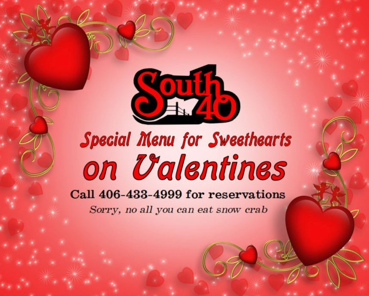 South 40 Valentines Day in Sidney, Montana