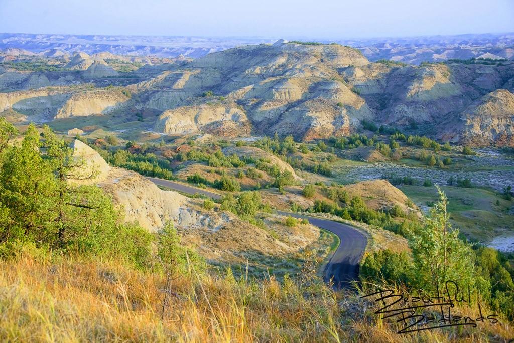 Glowing Serenity in the North Dakota Badlands