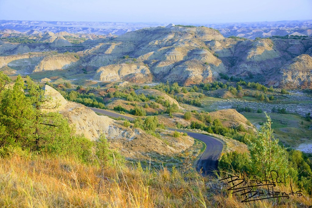 Glowing Serenity in the North Dakota Badlands