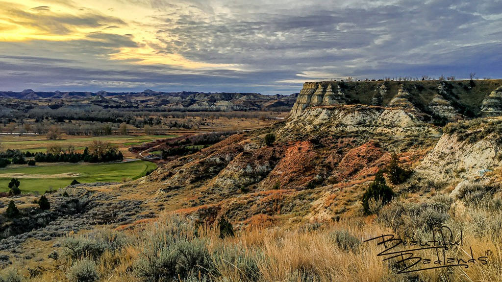 Above the Greens in the North Dakota Badlands