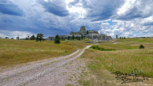 Storms intensified in Montana and swept over Capitol Rock, west of Camp Crook, South Dakota on a hot July afternoon. July 14, 2020