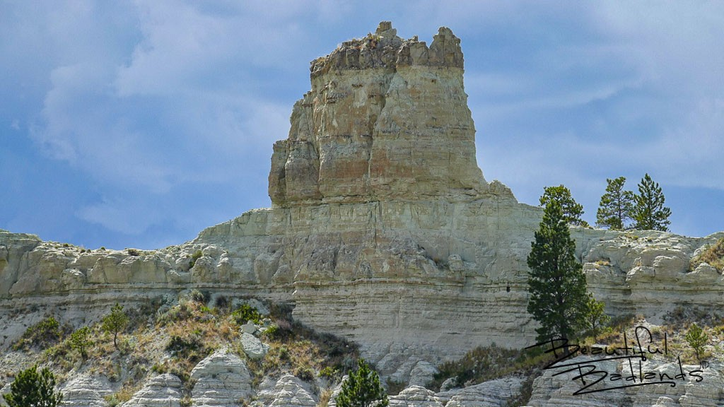 This rock formation forms the dome of the capitol at Capitol Rock, west of Camp Crook, South Dakota. July 14, 2020