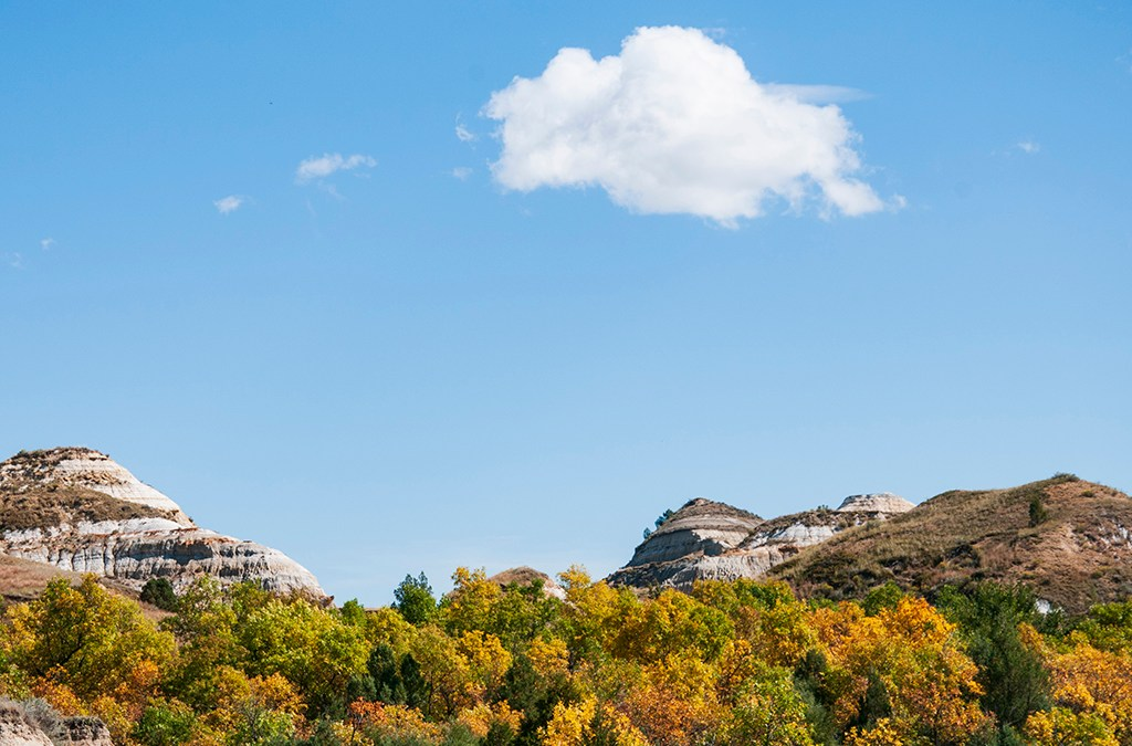 Now is the time to see Badlands Fall Colors