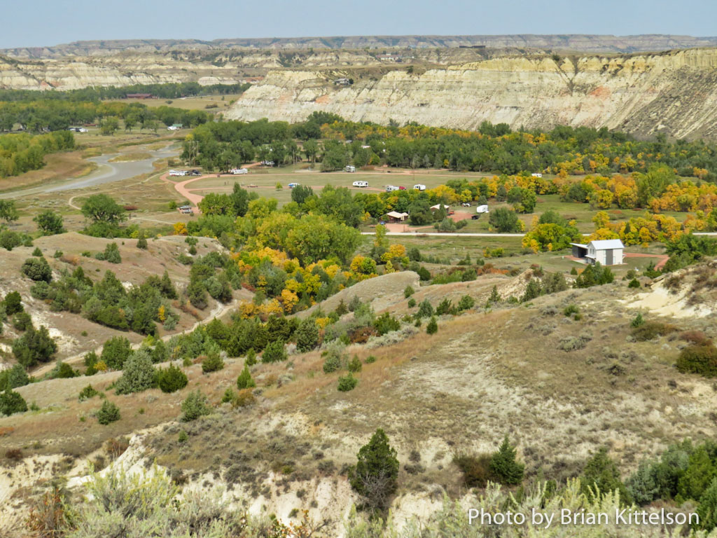 Sully Creek State Park is located on the Little Missouri River, south of Medora off of East River Road. It provides camping and biking, hiking, and horse back access to the Maah Daah Hey Trail, which crosses the river there.