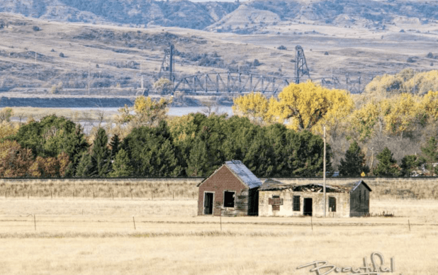 The Remnants of Mondak, and the Snowden Bridge in Eastern Montana, 2018