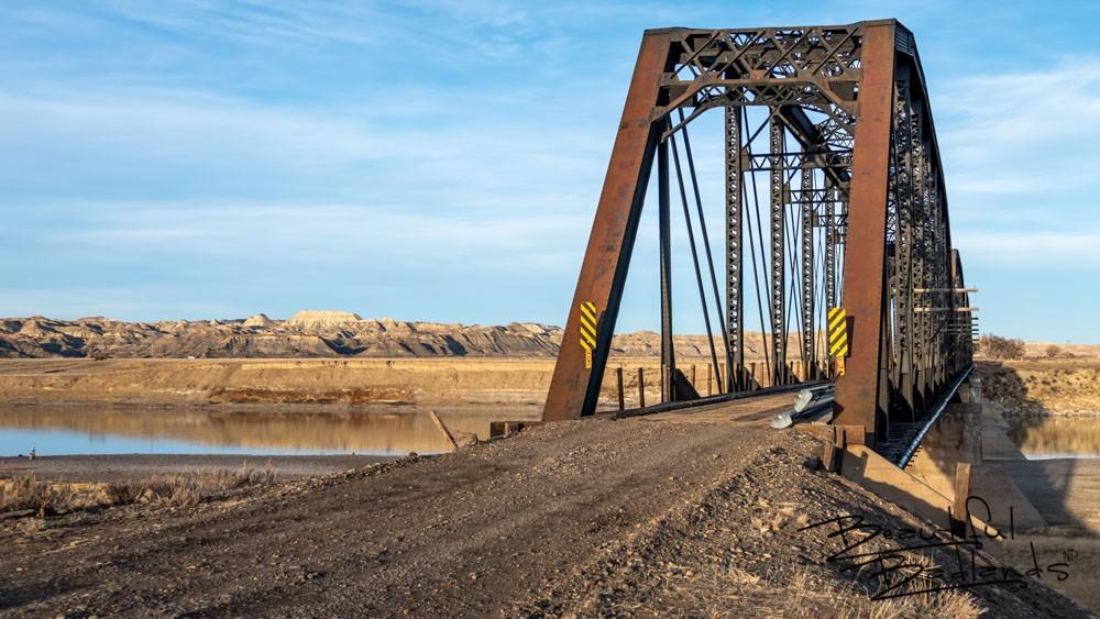 Milwaukee RR bridge at Calypso Trail