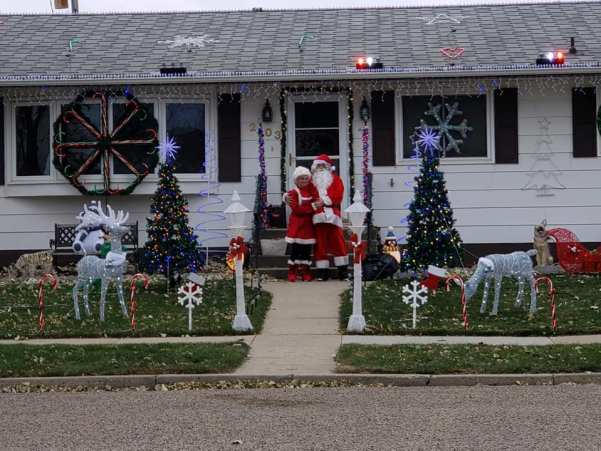 Lights at 2103 2nd Avenue East in Williston, North Dakota boast one of the most popular Christmas Lights displays in the area. find out more about it (including videos) here: https://www.facebook.com/LightsOn2ndAveEast/