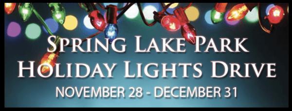 Spring Lake Park Holiday Lights Drive 2020 Williston, North Dakota Photo courtesy Spring Lake Park Holiday Lights Drive Facebook page.