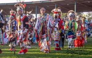 Young Dancers Grand Entry Little Shell Powwow New Town North Dakota