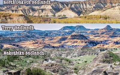 Road Trip! 3 Badlands, 2 states, 1 day.