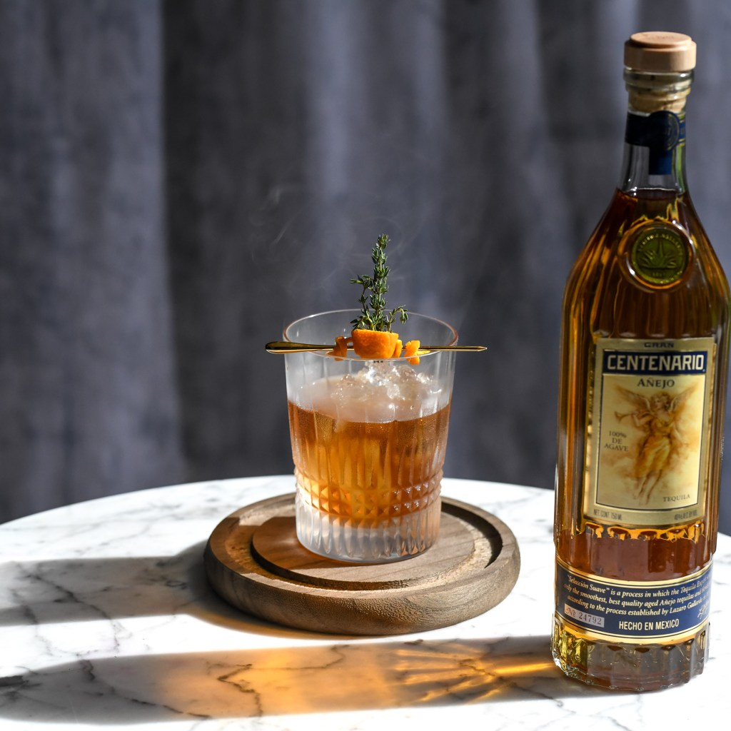, Smoked Tequila Old Fashioned