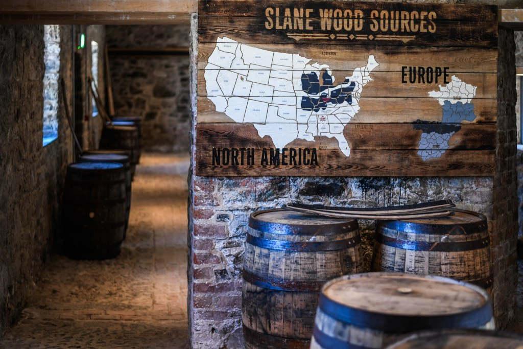 , Slane Distillery Rolls Out First Barrel at State-of-the-Art Distillery