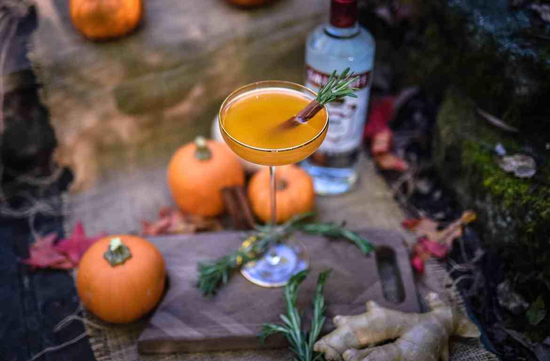 , Pumpkin Spice Martini