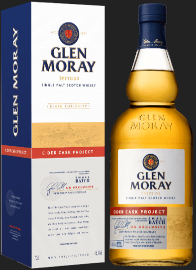 , Glen Moray launches ground-breaking Cider Cask Project Whisky