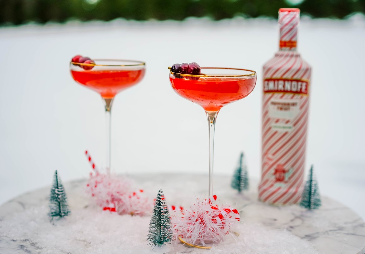 , Twisted Snowy Martini
