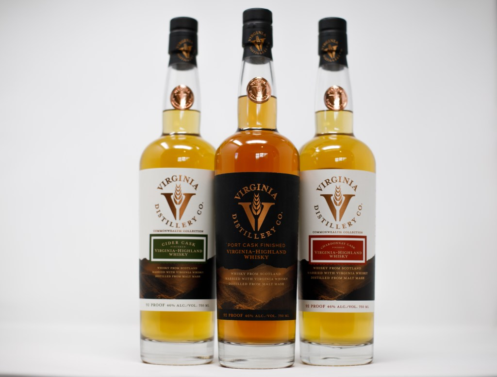 , Chardonnay and Cider Cask Finished Whiskies Back in Stock at Virginia Distillery Company