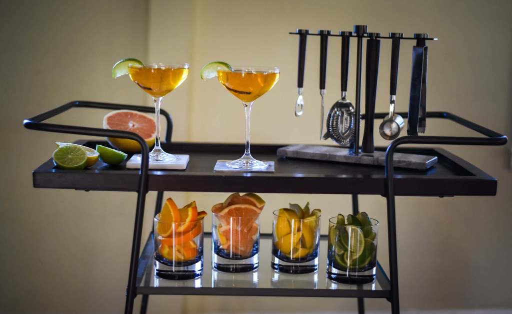 , Creative Ways to Be Part of the Cocktail Cart Comeback