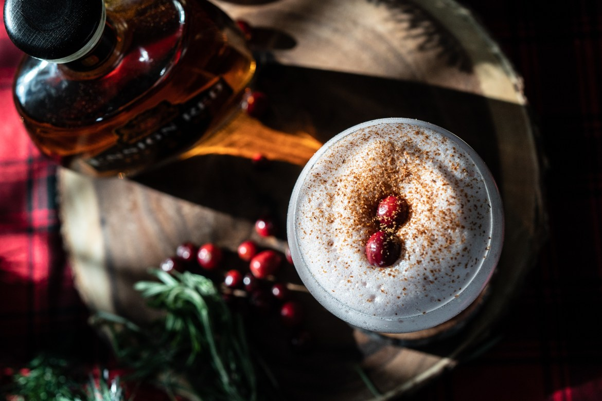 , Cranberry and sour maple