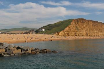 East Beach and East Cliff, West Bay, Near Bridport