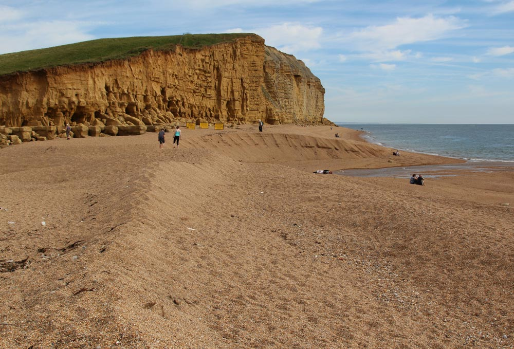 Burton Freshwater Beach, Burton Bradstock, near West Bay