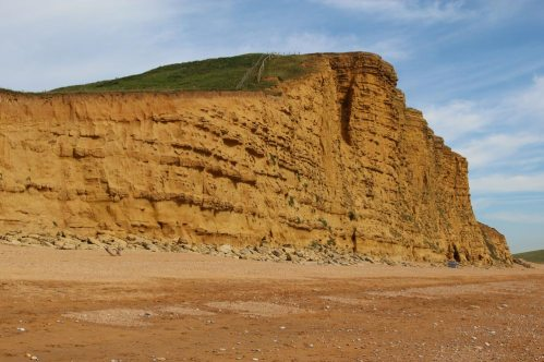 East Cliff and South West Coast Path, West Bay, near Bridport