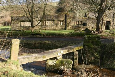 Clapper Bridge and Wycoller Hall, Wycoller