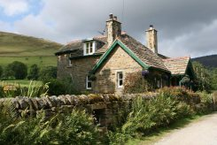 Cottage on the original Pennine Way, Edale