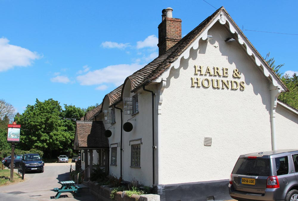 Hare and Hounds Pub, Old Warden