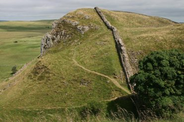 Highshield Crags and Sycamore Gap, Hadrian's Wall