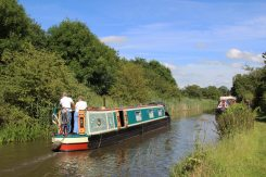 Narrow boat, Trent and Mersey Canal, Bartington