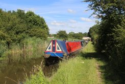 Narrow boats, Trent and Mersey Canal, Bartington