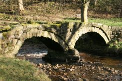 Pack Horse Bridge, Wycoller Beck, Wycoller