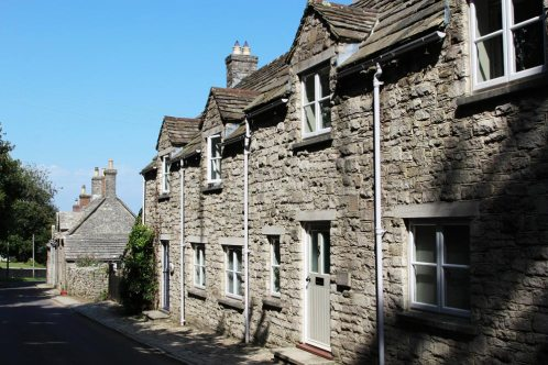 Purbeck stone cottages, Kingston