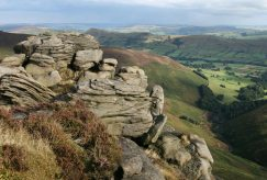 The Great Ridge, from Upper Tor, Kinder Plateau