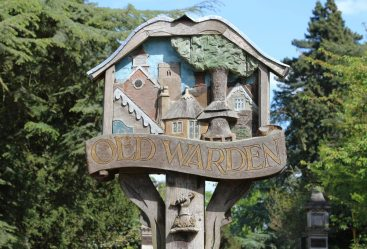 Village Sign, Old Warden