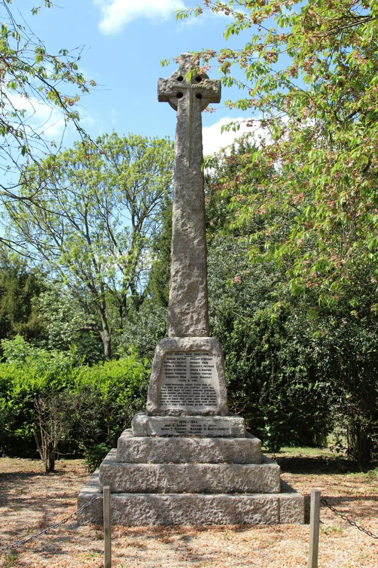 War Memorial, Old Warden