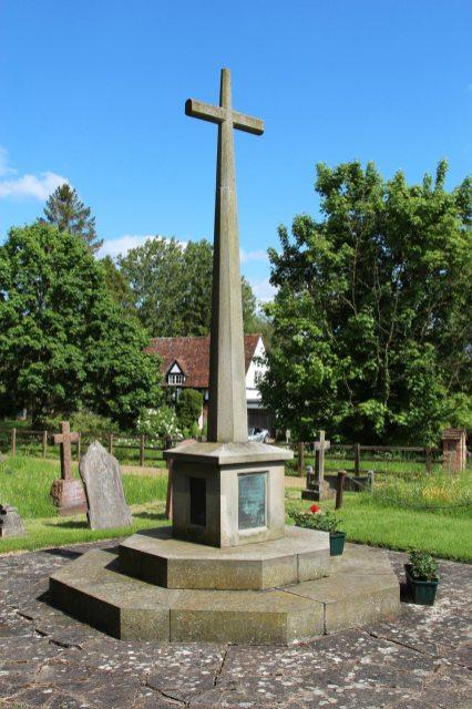 War Memorial, St. Peter's Churchyard, Benington
