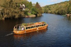 'Wye Pride', Kingfisher Cruises, River Wye, Symonds Yat