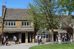 Gift shops, Broadway, Cotswolds