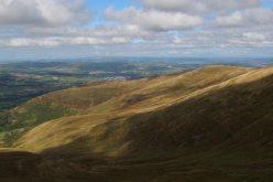 Cefn Cwm Llwch, from path to Corn Du, Brecon Beacons